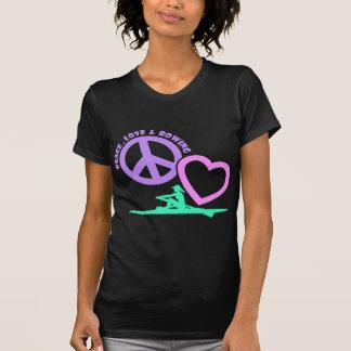 CAMISETA PEACE-LOVE-ROWING