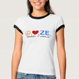 Camiseta Peace.Love.ZE. T da campainha