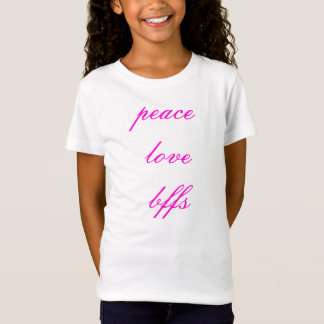 Camiseta peacelovebffs