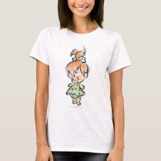 Camiseta PEBBLES™ - Esboço tirado mão