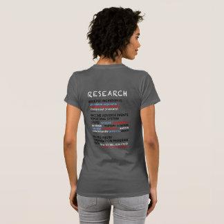 Camiseta Peça-me porque eu vacino já não - o cinza