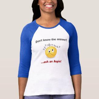 Camiseta Peça um Aspie.