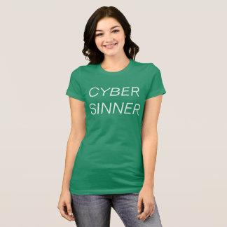 Camiseta pecador do cyber