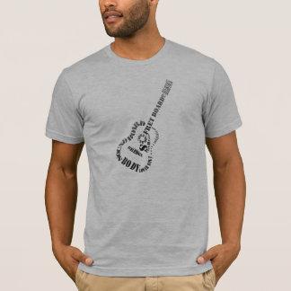 Camiseta Peças da guitarra