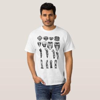 Camiseta Peças implacáveis