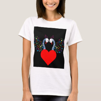 Camiseta pecock 3 do amor