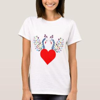 Camiseta pecock do amor