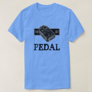 Camiseta Pedal da distorção preto & branco 1987