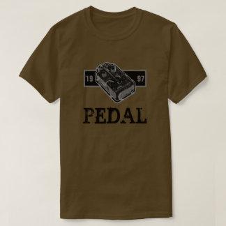 Camiseta Pedal da distorção preto & branco 1997