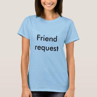 Camiseta Pedido do amigo
