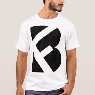 Camiseta Pedido feito sob encomenda 2 do logotipo de FB