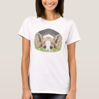 Camiseta Peekaboo do Corgi