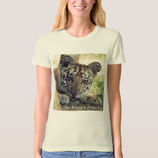 Camiseta peekaboo novo do tigre