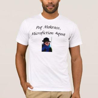 Camiseta Peg Mokrass: Agente de Microfiction