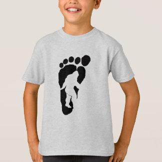 Camiseta Pegada de Bigfoot