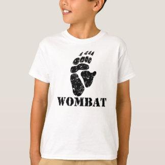 Camiseta Pegada de Wombat