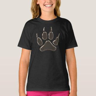 Camiseta pegada do lobo