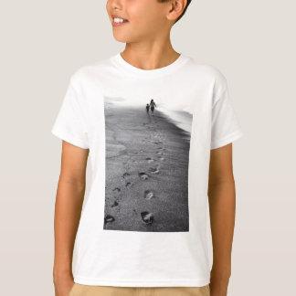 Camiseta pegadas da natureza