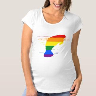 Camiseta Peixe-boi do arco-íris
