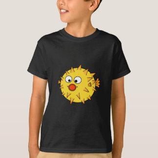 Camiseta Peixes amarelos do soprador