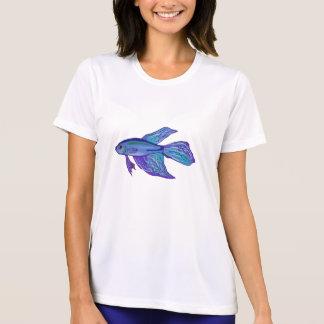 Camiseta Peixes azuis de Betta