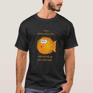 Camiseta Peixes confusos do soprador - provérbios