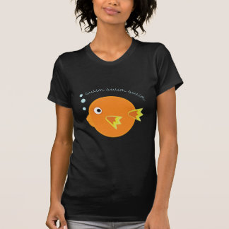 Camiseta Peixes da natação