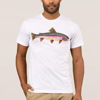 Camiseta Peixes da truta de arco-íris