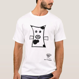 Camiseta Peixes da vaca - t-shirt cómico