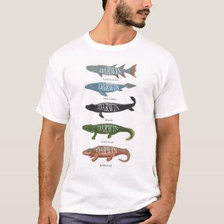 Camiseta Peixes de Darwin