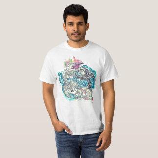Camiseta Peixes de Yin Yang Koi