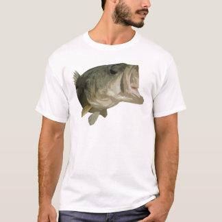 Camiseta Peixes do baixo Largemouth