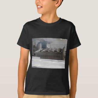 Camiseta Peixes do churrasco fora