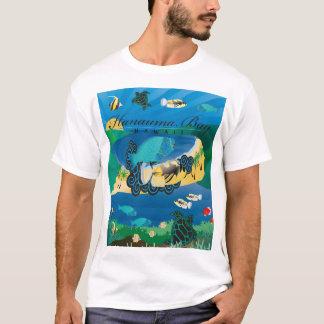 Camiseta Peixes do estado de Oahu Havaí da baía de Hanauma