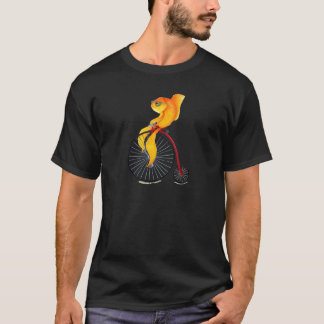 Camiseta Peixes do Farthing da moeda de um centavo