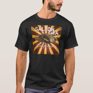 Camiseta Peixes do mar de Salton, Califórnia Starburst:
