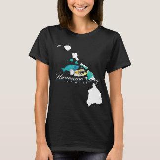 Camiseta Peixes do papagaio de Havaí