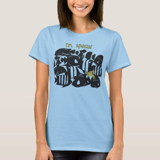 Camiseta Peixes especiais