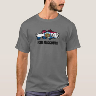 Camiseta Peixes Missouri