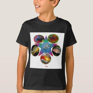 Camiseta peixes, peixe dourado, carpa, pesca, mar, oceano,
