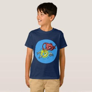 Camiseta peixes profundos sneaky que vão enganar desenhos