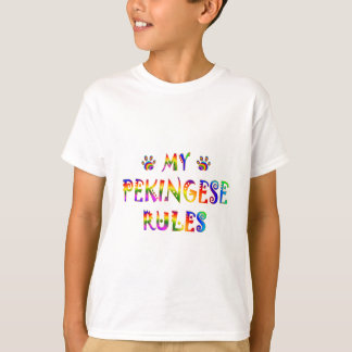 Camiseta Pekingese ordena o divertimento