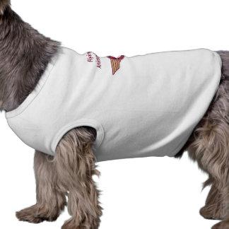 Camiseta Pele do vôo - camisa do Doggy