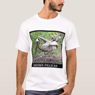 Camiseta Pelicano de Louisiana Brown