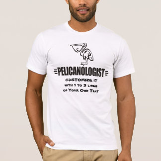 Camiseta Pelicano engraçado
