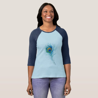 Camiseta Pena do pavão