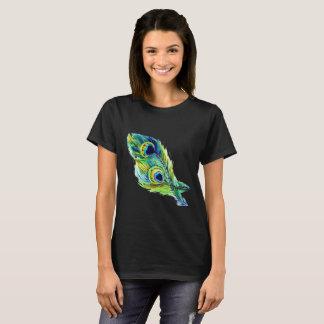 Camiseta Pena T-Shrit do pavão