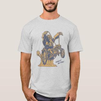 Camiseta Pendure acima & monte!