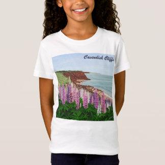 Camiseta Penhascos de Cavendish e Lupins do primavera, PEI