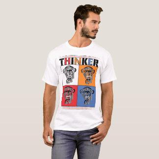 Camiseta Pensador (branco)